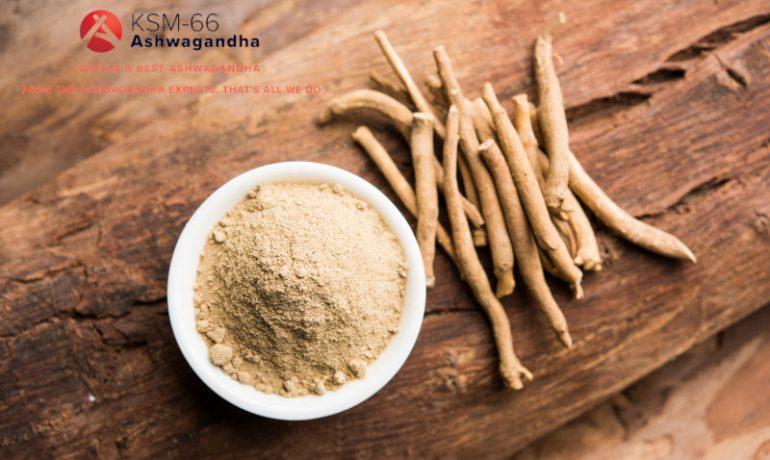 Ekstrakt z korzenia ashwagandhy [5% witanolidów] – KSM-66 Ashwagandha®