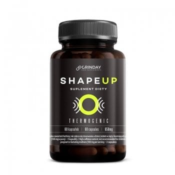 Shape Up - Thermogenic - Brûleur de graisse / Thermogénique - 60 capsules / 650 mg