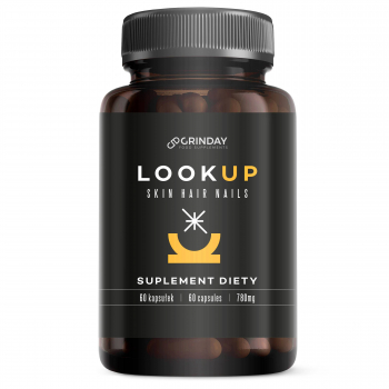 Look Up - Skin Hair Nails - 60 capsules/ 760 mg