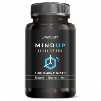 Mind Up - Energy For Mind - Brain Booster - Mind Memory Concentration