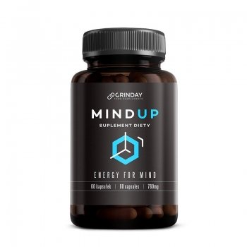 Mind Up - Energy For Mind - Intellect Mémoire Concentration - 60 capsules / 760 mg